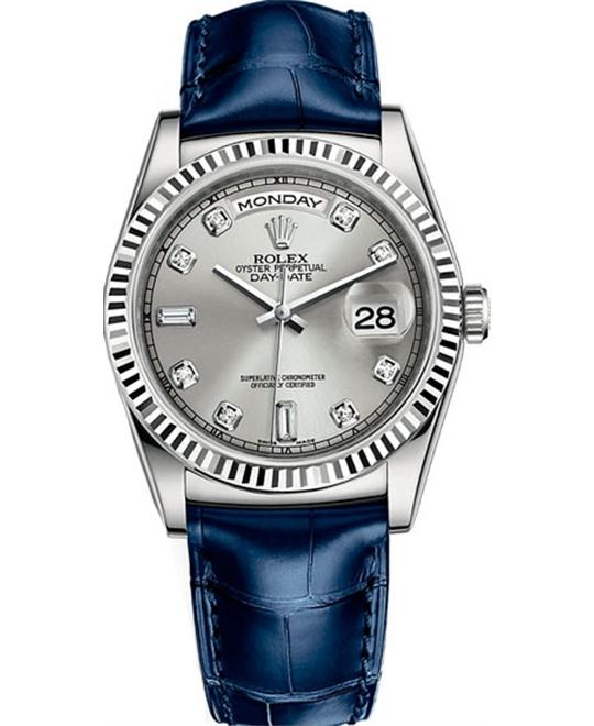 Rolex Day-Date 118139 White Gold Watch 36mm