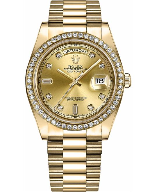 ROLEX DAY-DATE II WATCH 41