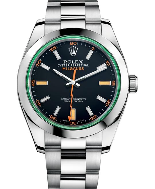 ROLEX OYSTER PERPETUAL 116400GV-0001 WATCH 40
