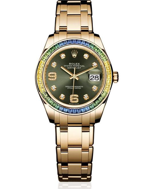Rolex Oyster Pearlmaster 86348SABLV Datejust 39mm