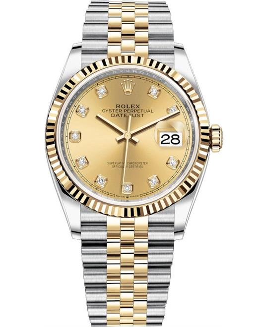 ROLEX OYSTER PERPETUAL 126233 DATEJUST 36