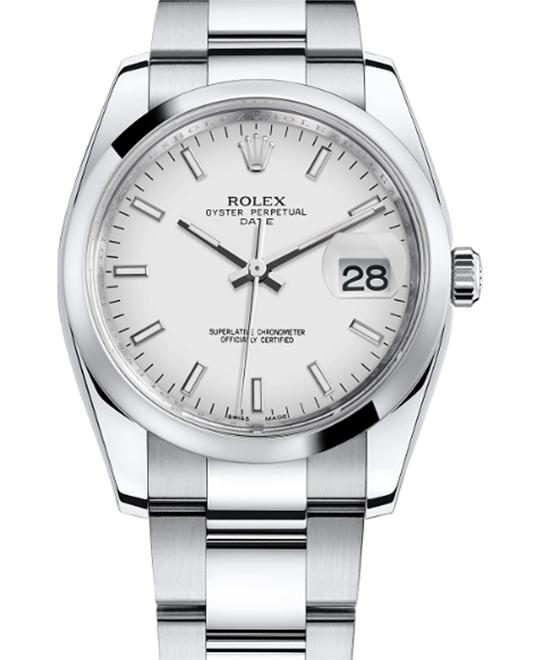 ROLEX Oyster Perpetual Date 115200 Men's Watch 34mm