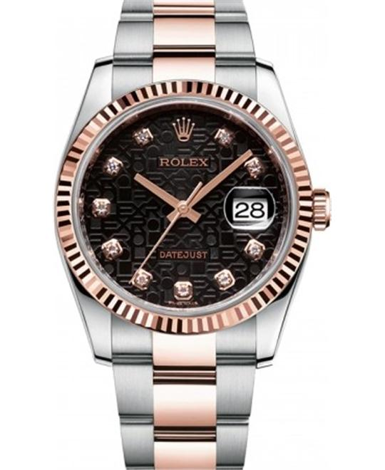 ROLEX Oyster Perpetual Datejust 3Jubilee  Watch 36mm