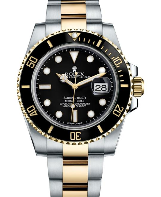 dong ho Rolex Submariner 116613-BLKDD Date 40