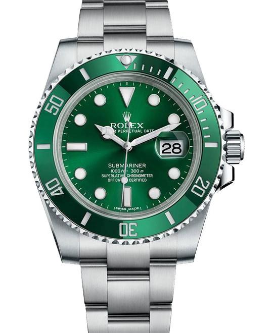 dong ho Rolex Submariner Date 116610LV Oyster Perpetual 40mm