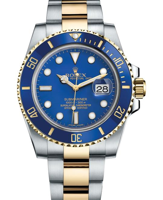 dong ho nam Rolex SUBMARINER DATE 116613LB-0005 OYSTER PERPETUAL 40