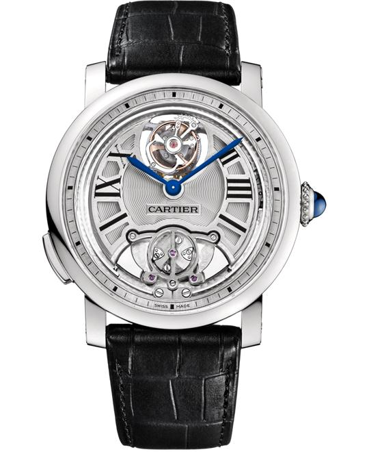 ROTONDE de CARTIER W1556209 MINUTE REPEATER FLYING TOURBILLON 45