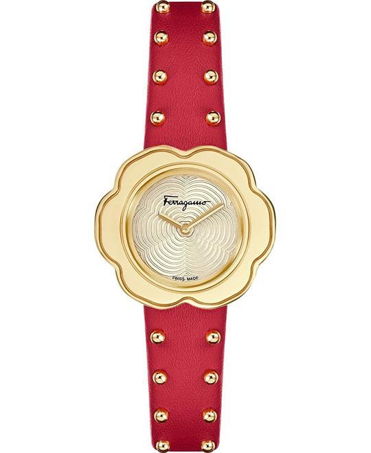 đồng hồ Salvatore Ferragamo SFCR00518 Fiore Watch 30