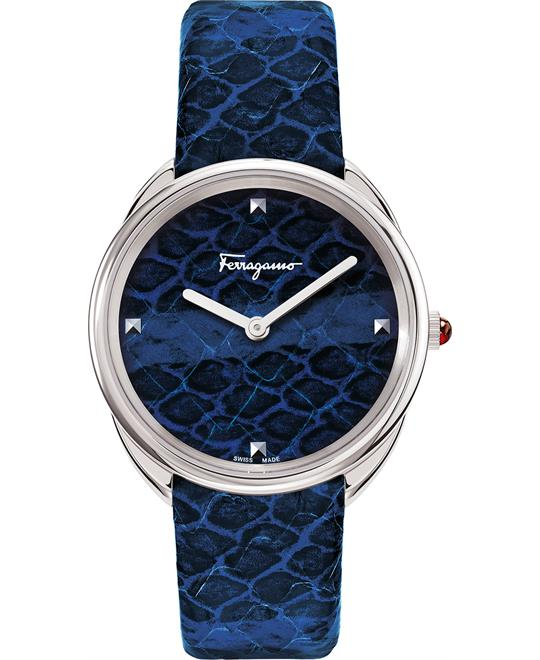 Salvatore Ferragamo Cuir Watch 34mm
