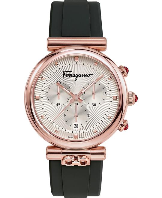 Salvatore Ferragamo Double Gancini Ora Watch 40mm