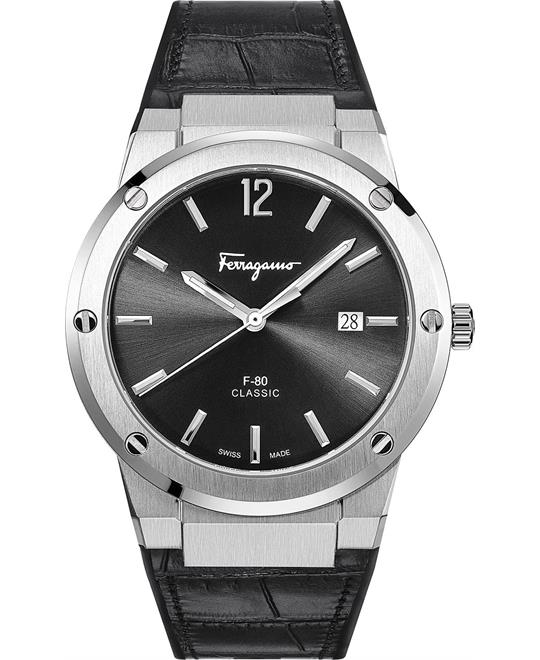 Salvatore Ferragamo F-80 Black Watch 41mm