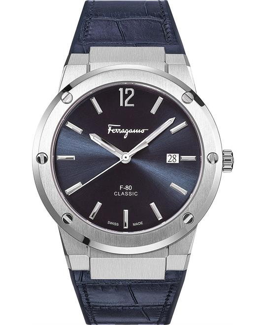 Salvatore Ferragamo F-80 Blue Watch 41mm