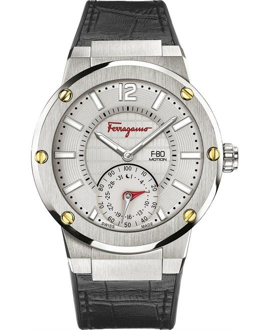 Salvatore Ferragamo F-80 Motion Hybrid Smart Watch 44