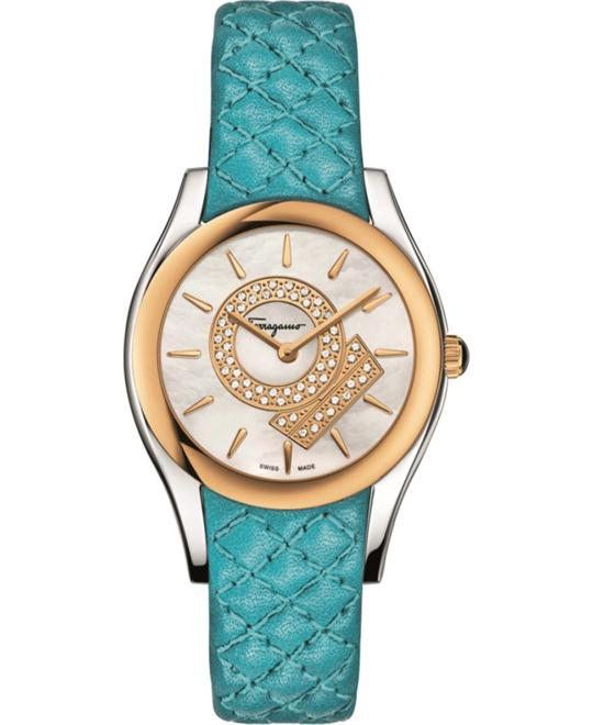 Salvatore Ferragamo FG4020014 Lirica Quartz Blue  33mm