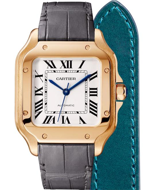Cartier Santos De Cartier WGSA0012 Watch 35.1
