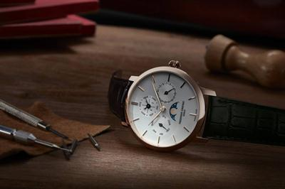 Siêu phẩm in house của đồng hồ Frederique Constant Slimline Manufacture Perpetual