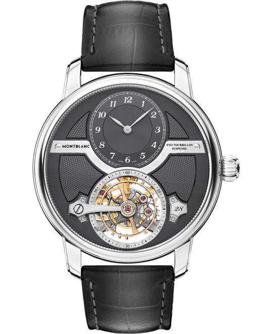 đồng hồ nam automatic MontBlanc Star Legacy 119858 Suspended Exo Tourbillon Limited Edition 44.8mm