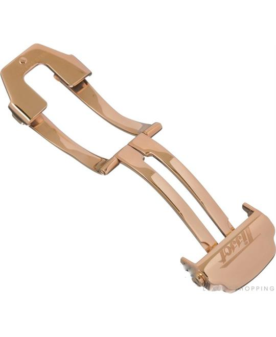 Strap Rose Gold Coated Steel Deployant Buckle 20mm
