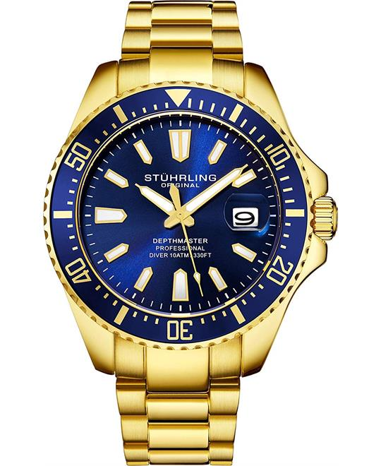 Stuhrling Original 3950A Pro Diver Watch 44mm