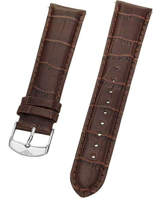 Stuhrling Original mens brown Strap 22mm