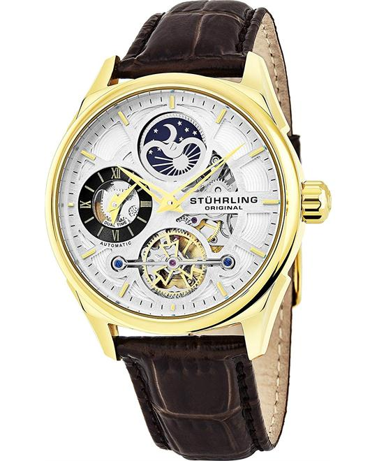 Stuhrling Original Skeleton Dress 42mm
