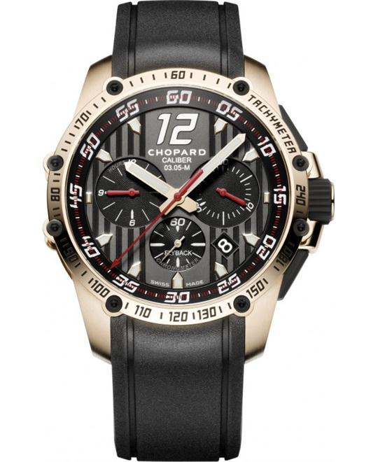 Chopard Superfast 161284-5001 Chrono 18k Rose Gold 45