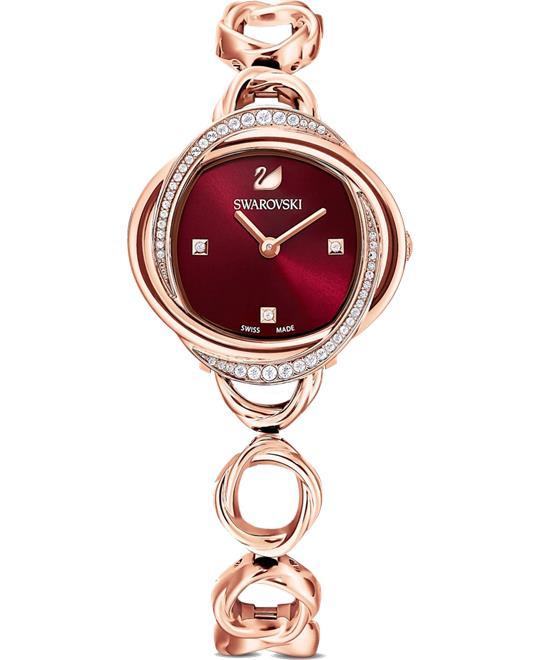 đồng hồ nữ Swarovski Crystal Flower Watch 30mm