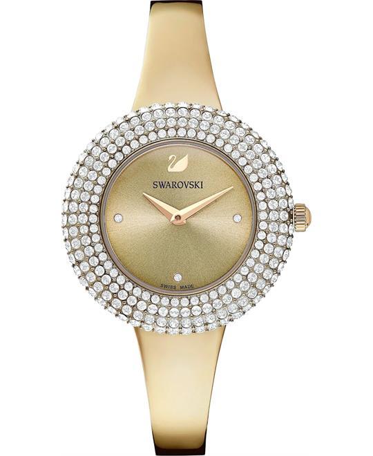 đồng hồ nữ Swarovski Crystal Rose Watch 34mm