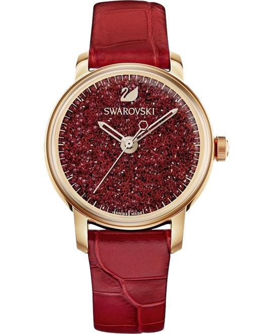 đồng hồ nữ Swarovski Crystalline Hours Watch 38mm
