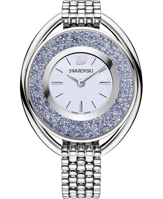 đồng hồ nữ Swarovski Crystalline Oval Watch 37x43mm