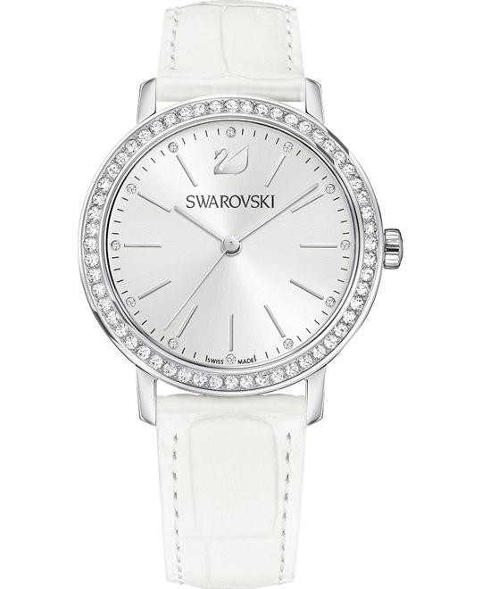 dong ho Swarovski Graceful Lady White Ladies Watch 37mm