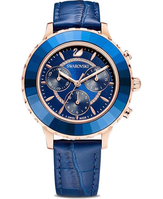 dong ho Swarovski Octea Lux Chrono Watch 39.5mm
