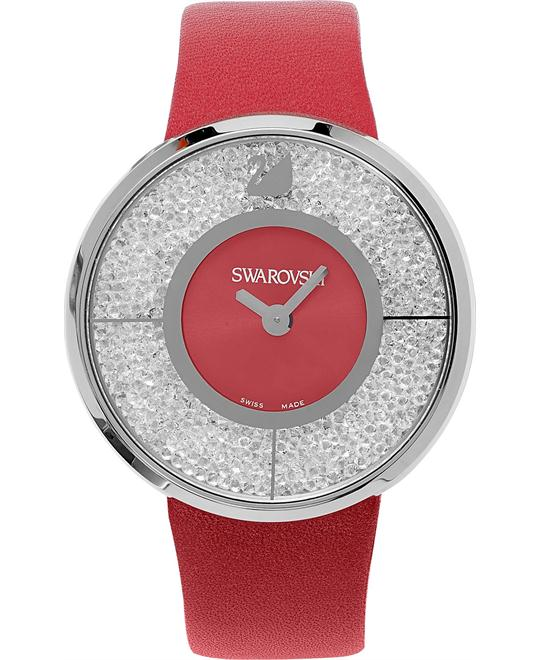 Swarovski Watch Women's Swiss Crystalline Leather 40mm