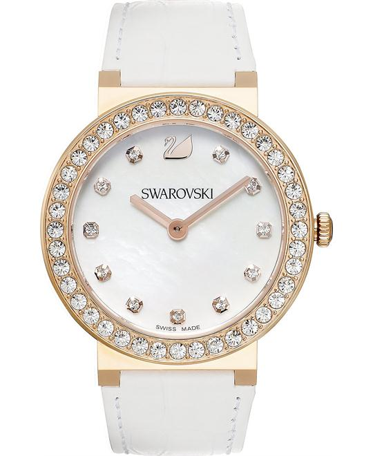 Swarovski Watch Women's Swiss White Watch 38mm