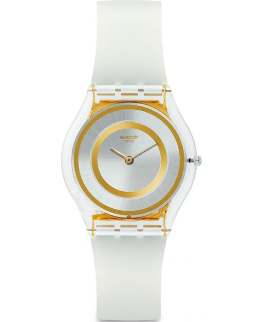 SWATCH Lattea Silver Dial Lades Watch 34mm