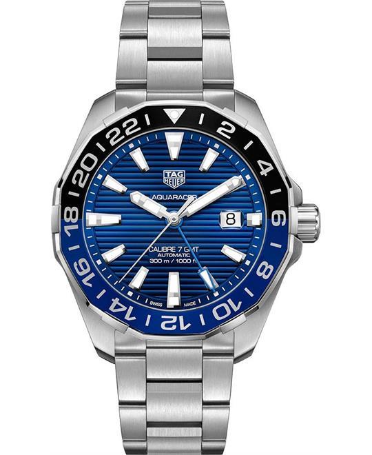 đồng hồ nam thể thao TAG Heuer Aquaracer GMT WAY201T.BA0927 Watch 43mm