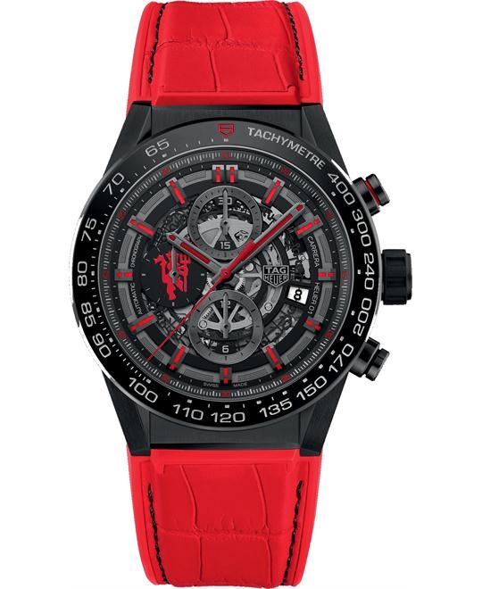 đồng hồ nam thể thao TAG Heuer Carrera CAR2A1J.FC6416 Calibre Heuer01 45 mm