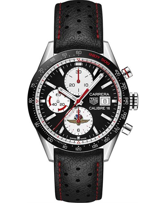 đồng hồ nam automatic Tag Heuer Carrera CV201AS.FC6429 Calibre 16 Watch 41mm