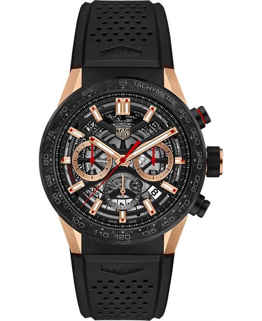 đồng hồ nam TAG Heuer Carrera CBG2052.FT6143 Calibre Limited 02 43mm