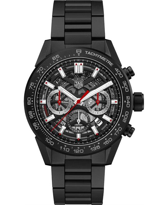 Tag Heuer Carrera CBG2A90.BH0653 Calibre Heuer 02 Watch 45mm
