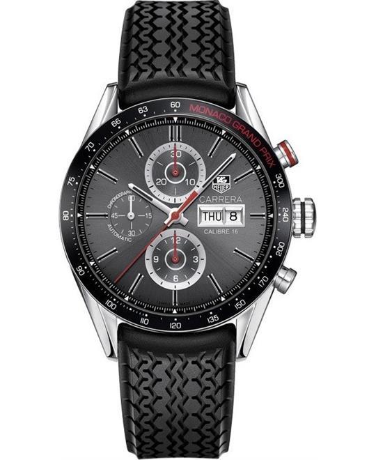 đồng hồ thể thao Tag Heuer Carrera CV2A1M.FT6033 Monaco Grand Prix 43mm