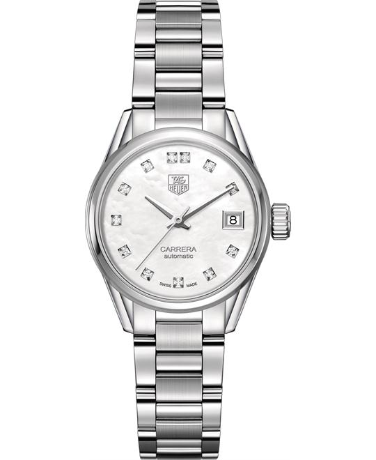 TAG Heuer WAR2414.BA0776 Carrera Calibre 9 Diamond 28mm