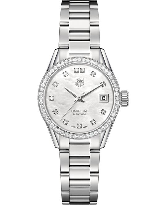 TAG Heuer WAR2415.BA0776 Carrera Calibre 9 Diamond 28mm