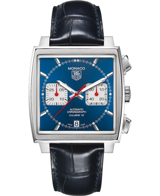 Tag Heuer Monaco CAW2111.FC6183 Calibre 12 Watch 39