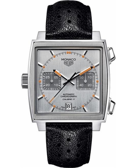 đồng hồ mặt vuông TAG Heuer Monaco CAW211C-FC6241 Chronograph Watch 39mm
