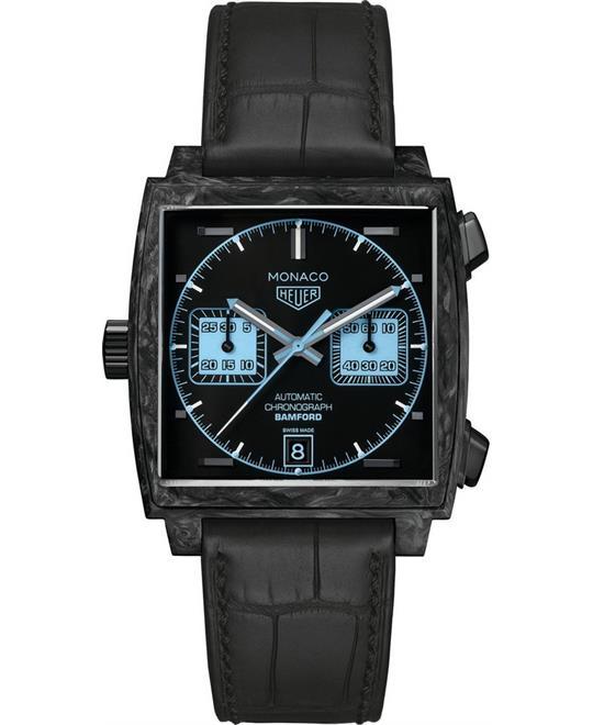 đồng hồ mặt vuông TAG Heuer Monaco CAW2190.FC6437 Calibre 11 Limited 39mm
