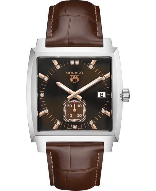 đồng hồ nam Tag Heuer Monaco WAW131E.FC6420 Quartz 37mm