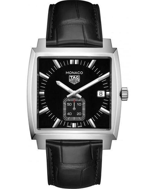 đồng hồ nam mặt vuông thể thao Tag Heuer Monaco WAW131A.FC6177 37mm