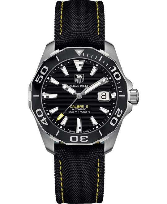 TAG Heuer WAY211A.FC6362 Aquaracer Textile Watch 41mm