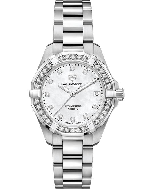 TAG HEUER WBD1315.BA0740 AQUARACER DIAMOND 32MM